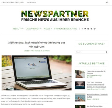 website programmieren