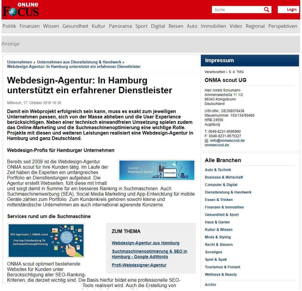 ebdesign Agentur Hamburg
